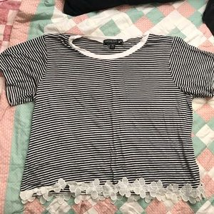 Living Doll Striped Top